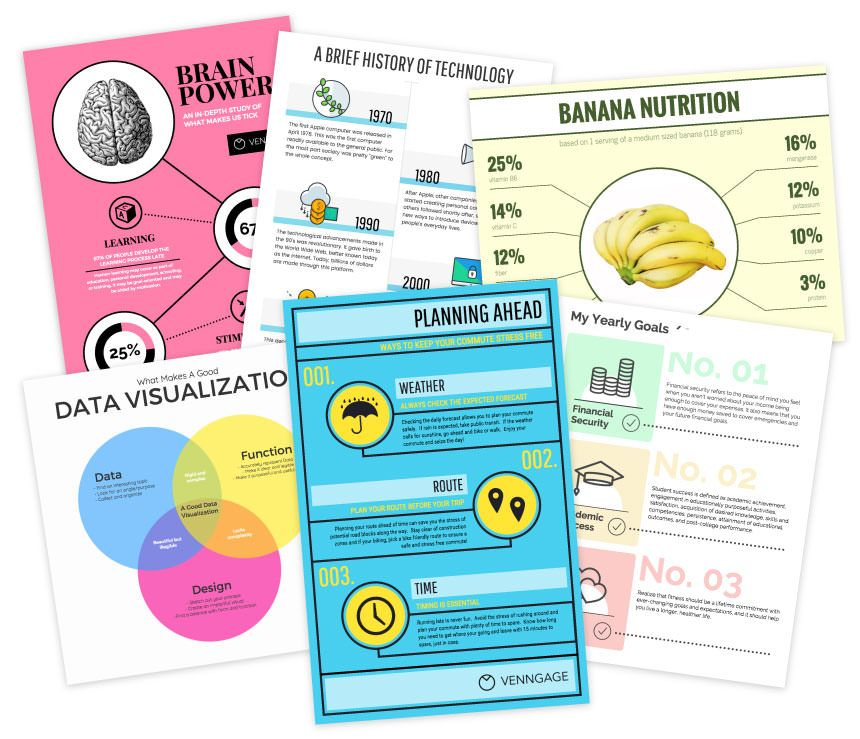 beautiful designs and infographic templates for all your needs